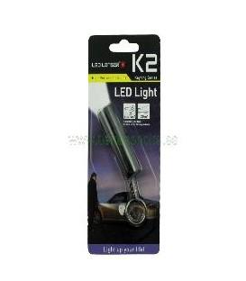 LINTERNA LED LENSER LLAVERO K2