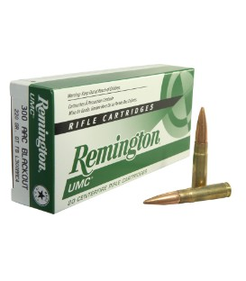 REMINGTON 300 AAC BLACKOUT 120G CTFB