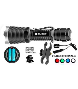 LINTERNA OLIGHT M23 JAVELOT XM-L2 1020 LUM. CON KIT RECARGABLE