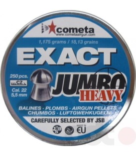 BALINES JSB JUMBO EXACT HEAVY C/5.52 (250 UNIDADES)