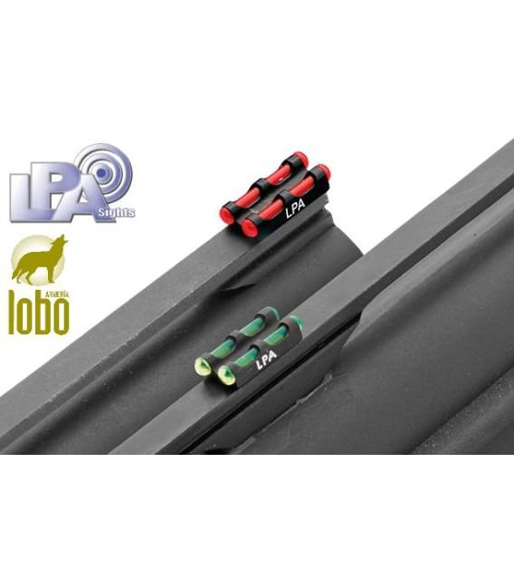 PUNTO DE MIRA DOBLE 2,6 mm/3 mm ROJO Y VERDE