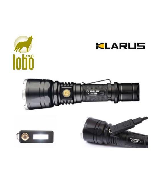LINTERNA KLARUS XT 12GT 1600 LUMEN+ENCHUFE REMOTO+MONTURA