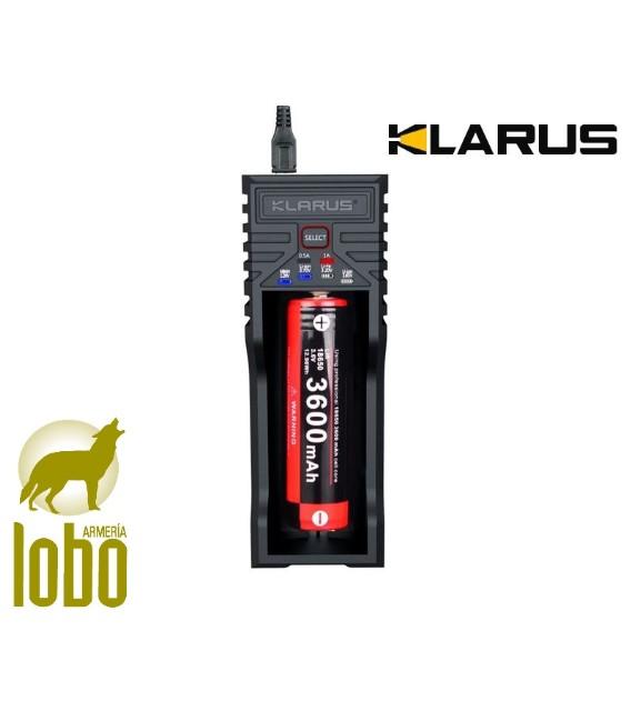 LINTERNA KLARUS FH10-BAC 700 LUMEN+ENCHUFE REMOTO