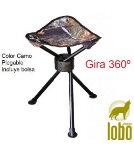 SILLA TRIPODE GIRATORIO 360º CAMU