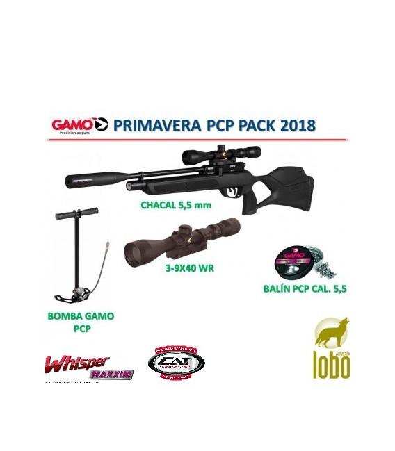 PACK CARABINA GAMO PRIMAVERA PCP