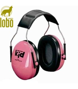 AURICULARES PELTOR NIÑOS H510AK-442-RE KID ROSA