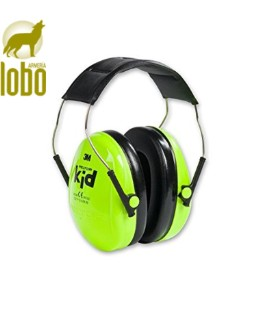 AURICULARES PELTOR NIÑOS H510AK-442-RE KID VERDE