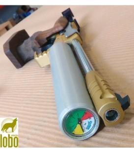 PISTOLA TESRO PA 10 GOLD - 2 CILINDROS AIRE COMPRIMIDO