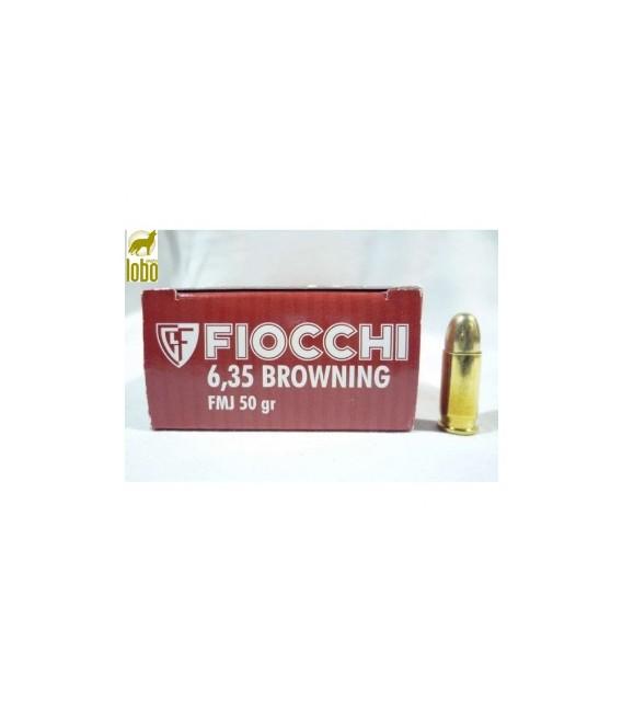 FIOCHI 6,35 BLINDADO 50G (CAJAS DE 50)