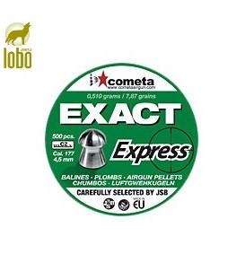 BALINES JSB EXACT EXPRESS C/4,52 (500 UNIDADES)