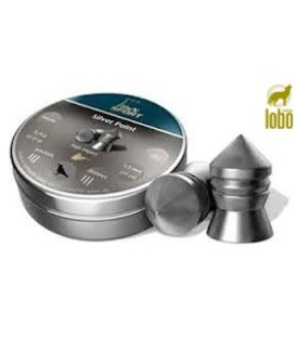 BALINES H&N SILVERPOINT C/4.5 CAJA DE 500