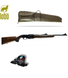 RRIFLE BERGARA B15 + VISOR DDSIGHT RED DOT GEN III+ RAIL TIPO WEAVER+ FUNDA RIFLE BERGARA