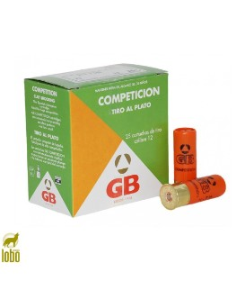 CARTUCHOS GB COMPETITION 24 GRS CAL/12 (7.5)