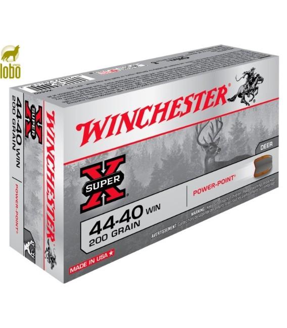 WINCHESTER 44.40 W P.POINT 200G (CAJAS DE 50)