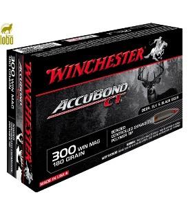 WINCHESTER 300 WIN MAG ACCUBOND 180G