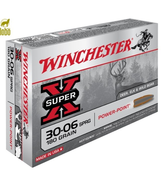 WINCHESTER 3006 SPRG POWER POINT 180G