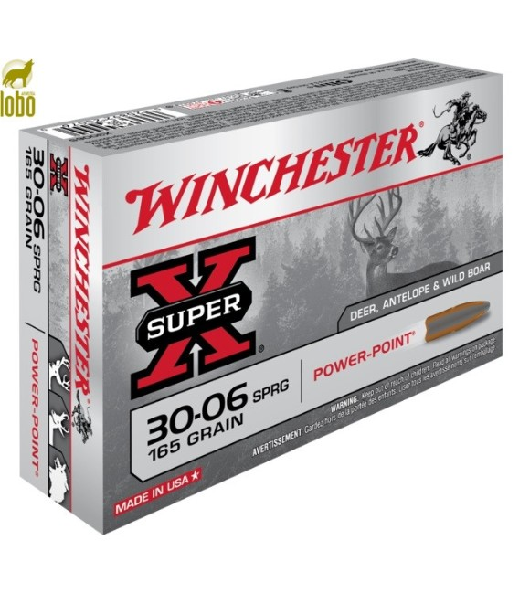 WINCHESTER 3006 POWER POINT 165G
