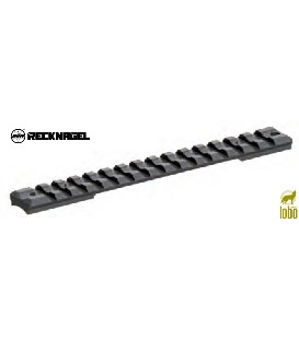 CARRIL RECKNAGEL PARA SAVAGE GERUNDETE HULSENBRUCKE ROUNDED TOP, LONG ALUMINIO