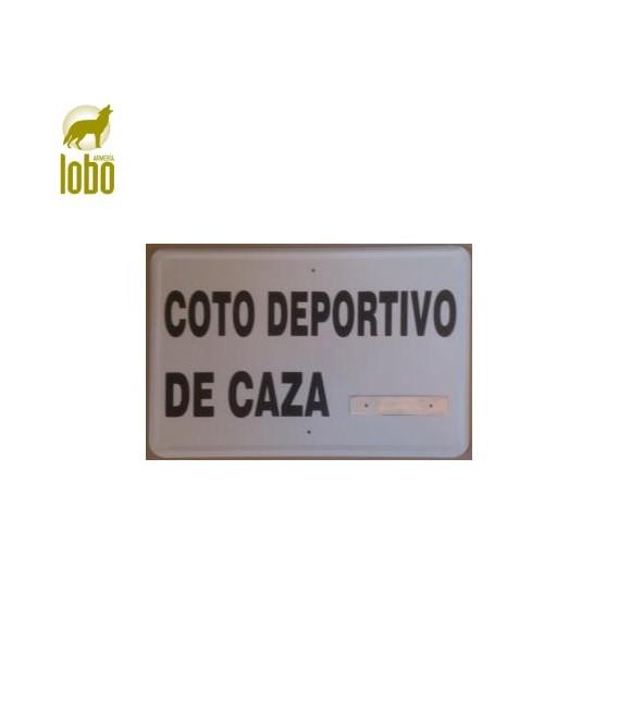 TABLILLA COTO DEPORTIVO DE CAZA