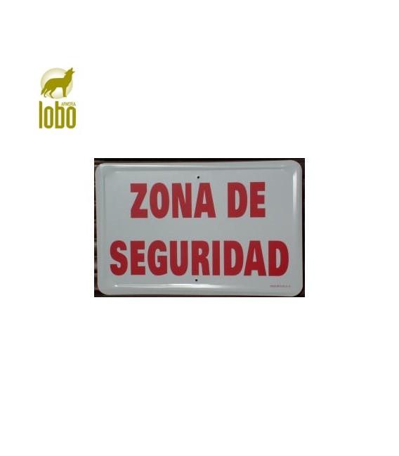 TABLILLA ZONA DE SEGURIDAD