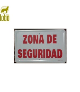 TABLILLA ZONA DE SEGURIDAD