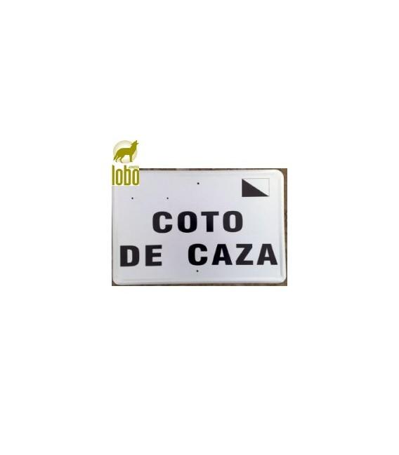 TABLILLA COTO DE CAZA