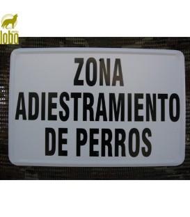 TABLILLA ZONA DE ADIESTRAMIENTO