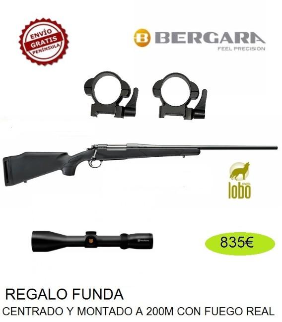 BERGARA B14 SPORTER C/270-3006-7MM RM + MONTURAS DESMONTABLES + VISOR NIKKO STIRLING 2,5-10X50
