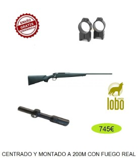 REMINGTON 783 C/243-308-270-7MM-300 + MONTURA WARNE + VISOR AVISTAR 1,1-4X24 R.I.