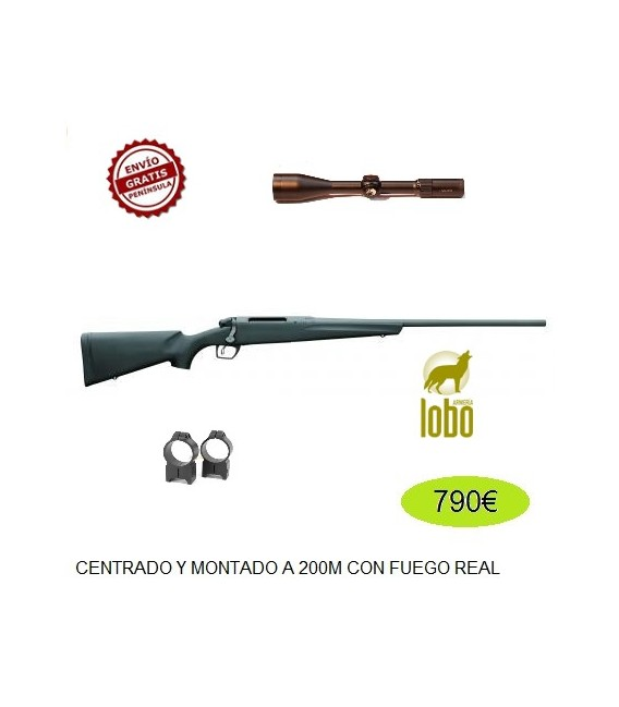 REMINGTON 783 C/243-308-270-7MM-300 + MONTURA WARNE + VISOR AVISTAR 3-12X56 R.I.
