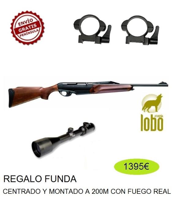 BENELLI ARGO E BASE C/3006-300 + MONTURA DESMONTABLE + VISOR SHILBA 2.5-10X50 R.I. D30 + FUNDA