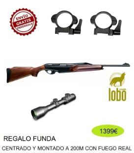 BENELLI ARGO E BASE C/3006-300 MONTURA DESMONTABLE + VISOR SHILBA 1.5-6X44 PERF VARILUX GEN3 + FUNDA