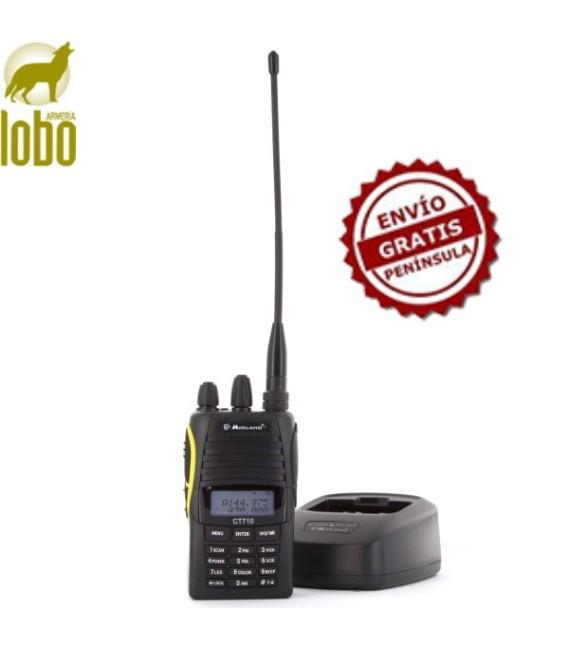 EMISORA PROFESIONAL DUAL VHF/UHF