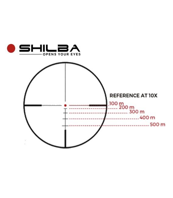VISOR SHILBA GOLD MEDAL I6X 2,5-15X50 RETICULA BA4 BALISTIC