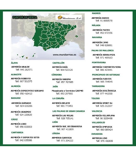 PRISMATICO ROOLLS 8X42 VERDE Y DORADO