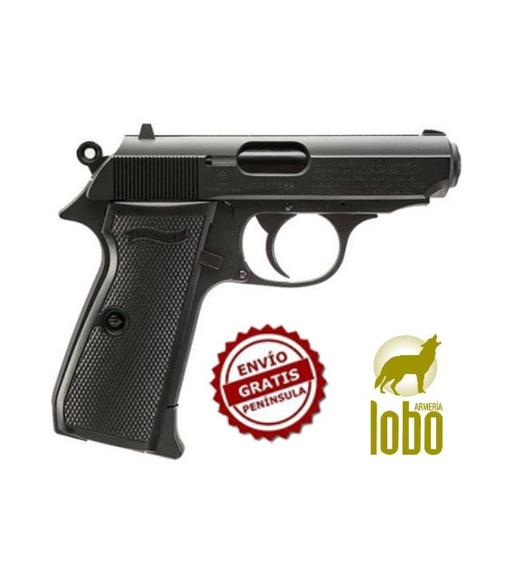 PISTOLA WALTHER PPK/S BLACK CO2 C/4.5