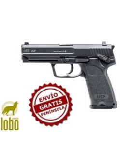PISTOLA HK USP BLOWBACK C/4.5MM BB