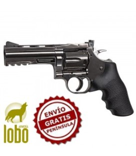 "REVOLVER DAN WESSON 4"" STEEL GREY CAL/4,5"