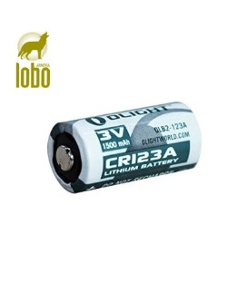 PILAS RECARGABLES OLIGHT CR123A 3,0 V 1600 MAH