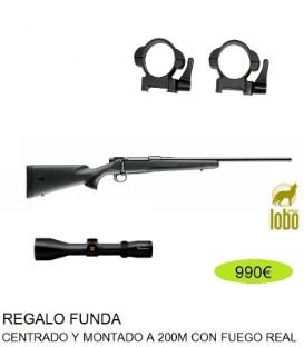 RIFLE MAUSER M18 + VISOR NIKKO STIRLING 2,5-10X50