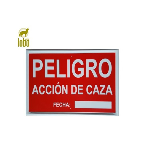 TABLILLA ACCION DE CAZA CON MATRICULA
