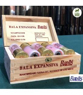BALA ROOLLS (BALA EXPANSIVA ROOLLS C/12) ( CAJA DE 10)