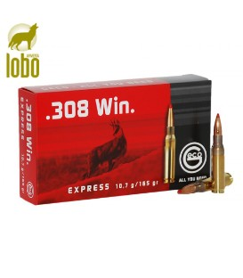 GECO EXPRESS 308 WIN MAG 165G (PUNTA PLASTICO)