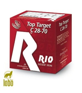 RIO C/28 TOP TARGET 28GRS 7-8
