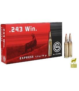 GECO EXPRESS 243 WIN MAG 76G (PUNTA PLASTICO)