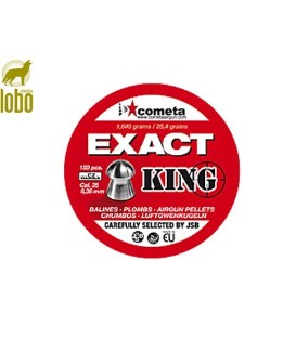 BALINES JSB EXACT KING C6.35 150 UNIDADES