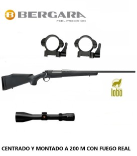 BERGARA B14 SPORTER C/270-3006-7MM RM + MONTURAS DESMONTABLES + VISOR NIKKO STIRLING 2,5-10X50 ó 3-12x56 REGALO FUNDA