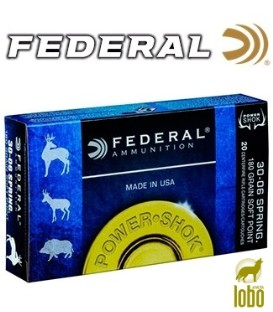 FEDERAL SOFT POINT CAL/30-06 180 GRS
