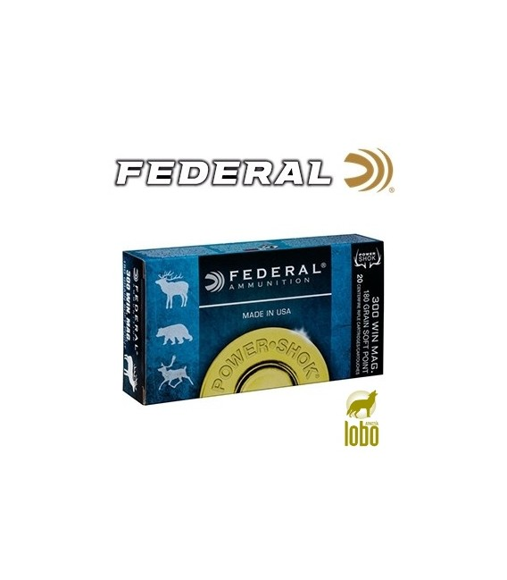 FEDERAL SOFT POINT CAL/300 180 GRS