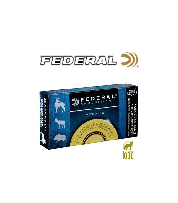 FEDERAL SOFT POINT CAL/ 7 MM REM MAG 150 GRS